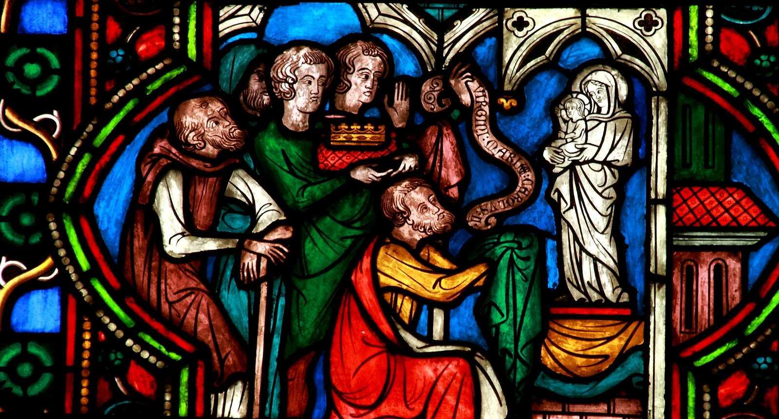 Les vitraux de la Cathédrale Notre-Dame de Paris