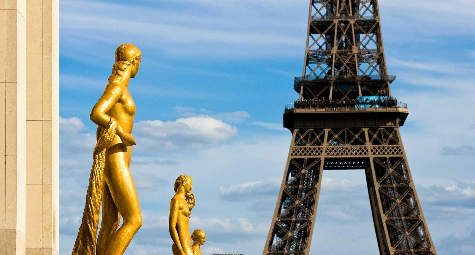 La Tour Eiffel vue du Trocadéro (1)