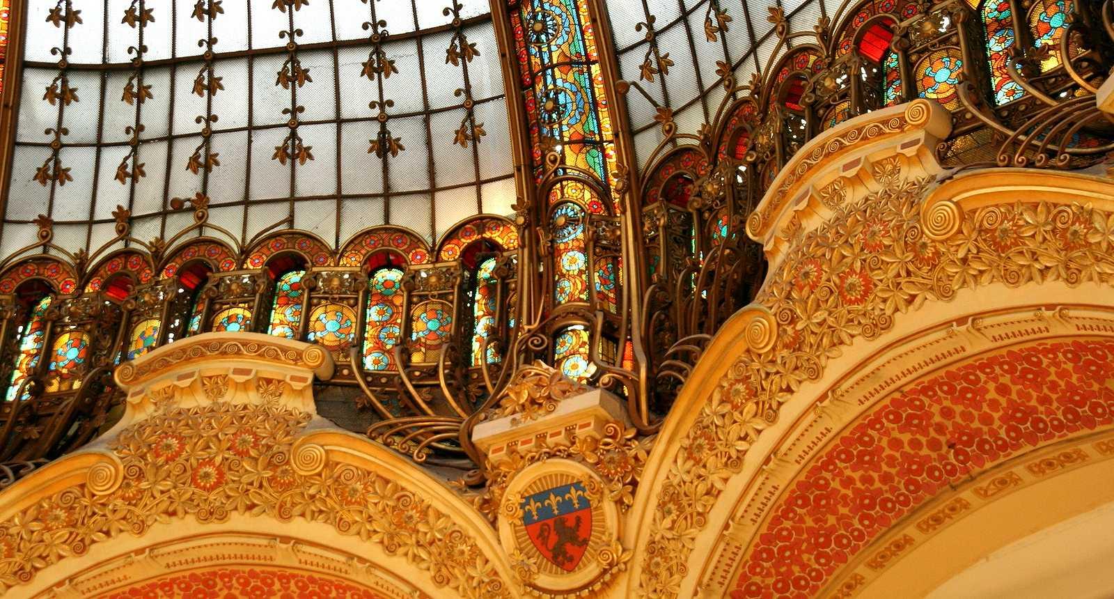 La Coupole des Galeries Lafayette à Paris