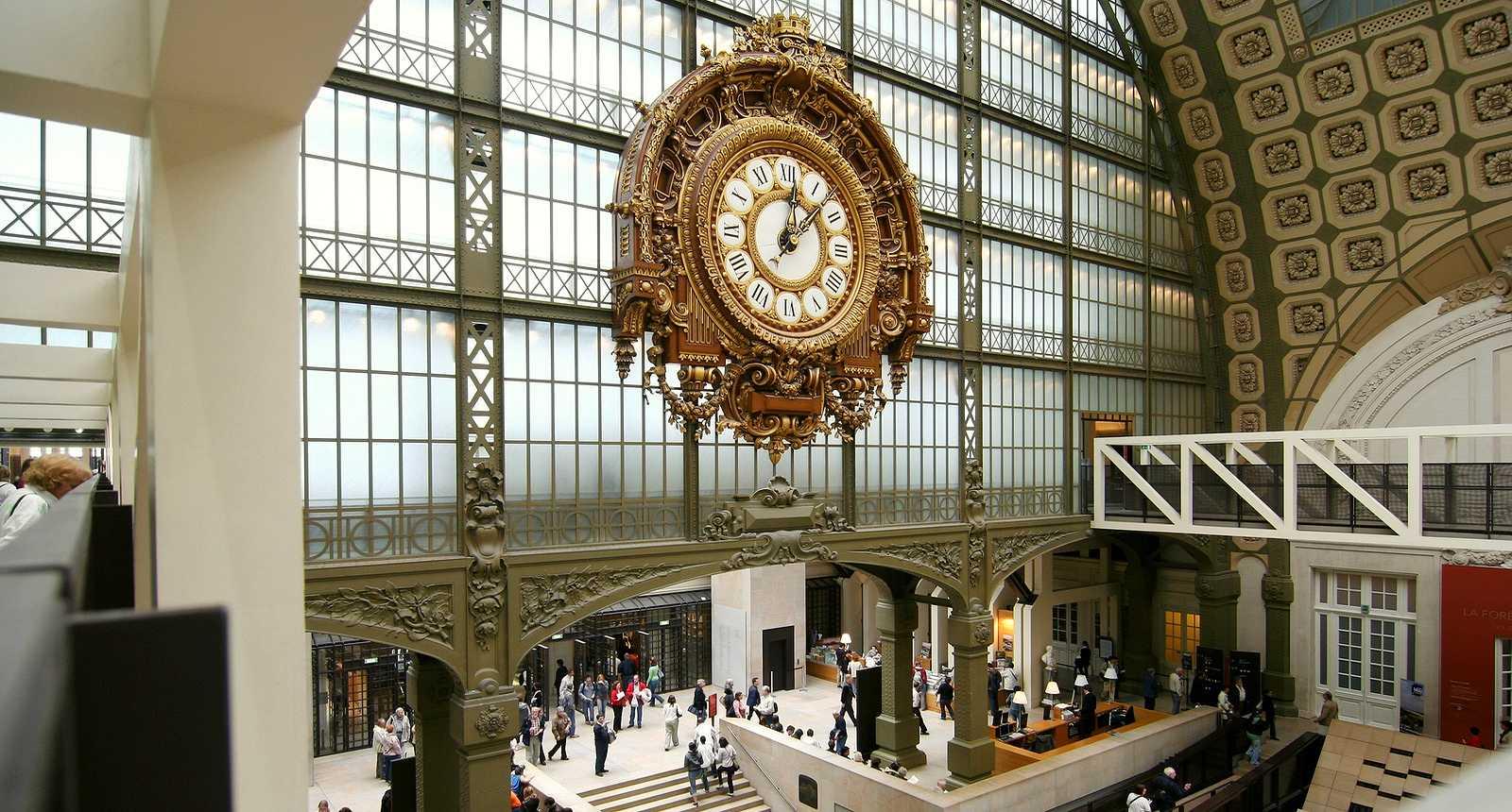 L'ancienne gare d'Orsay, devenue Musée d'Orsay
