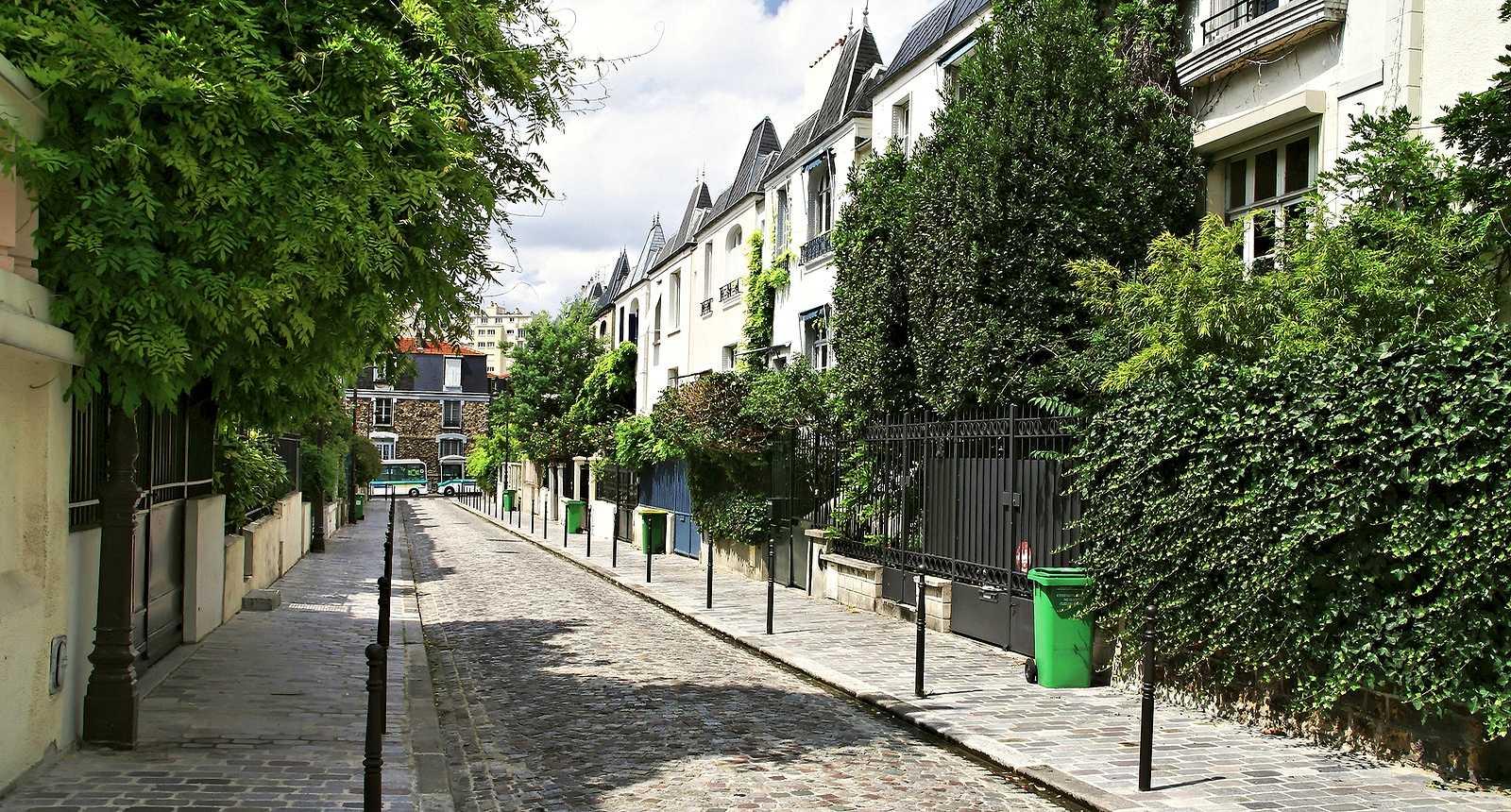 Une rue parisienne, dans le XIIIe arrondissement
