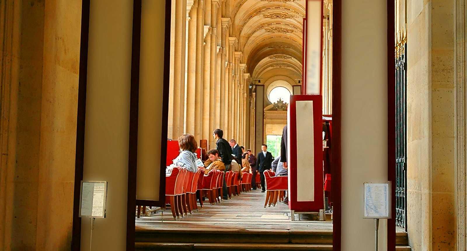 Brasserie parisienne au coeur de la Galerie Vivienne
