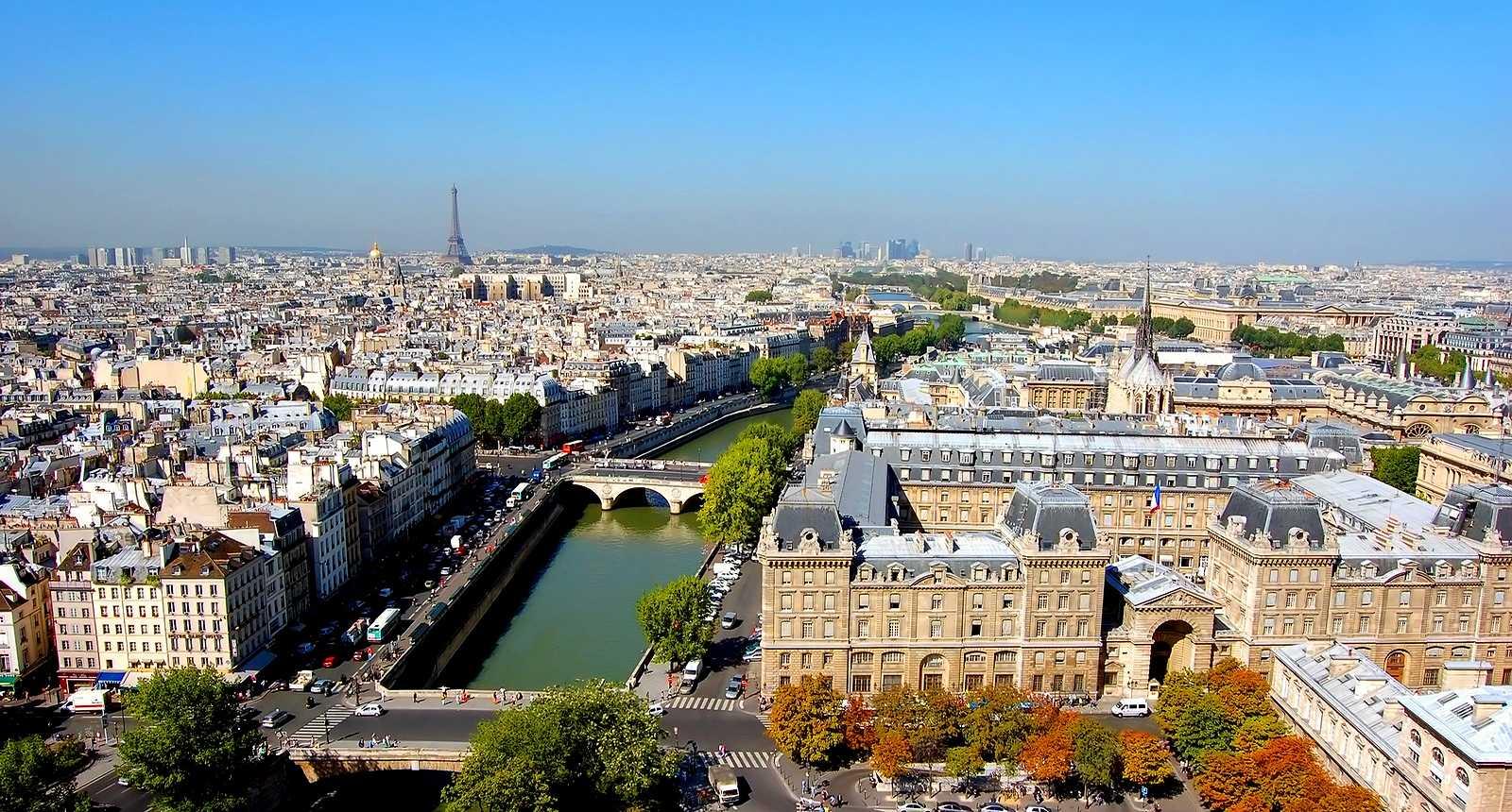 Vue de Paris depuis les tours de Notre-Dame