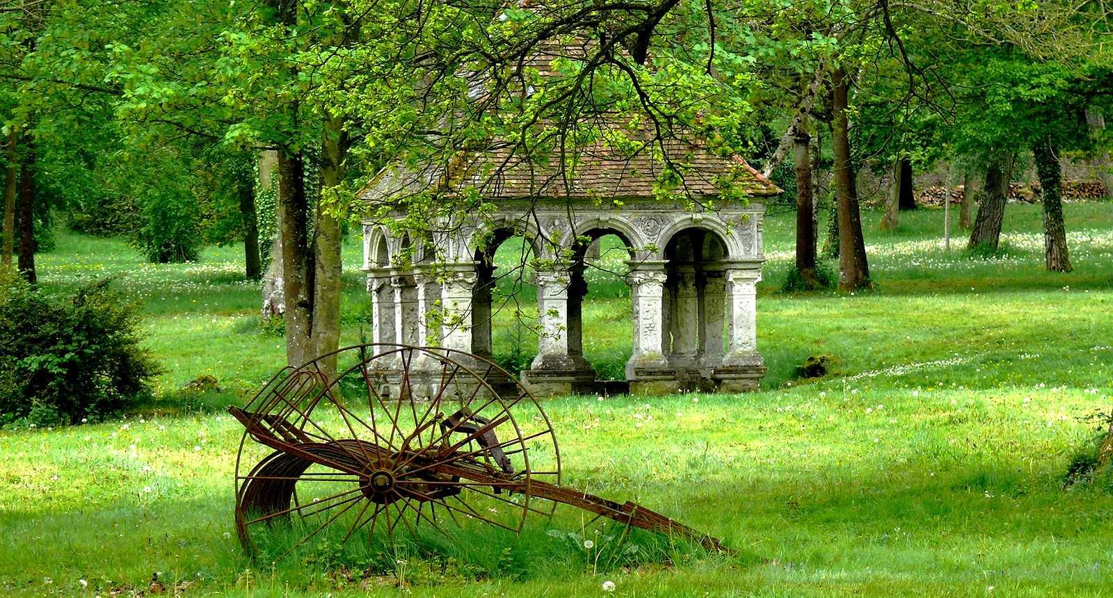 Le Parc de l'Abbaye des Vaulx de Cernay