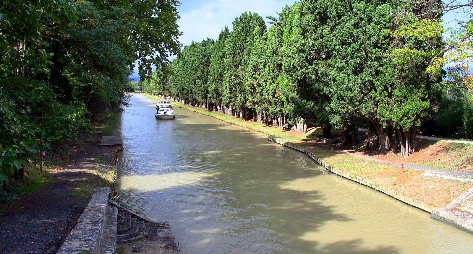 Le Canal du Midi à Carcassonne
