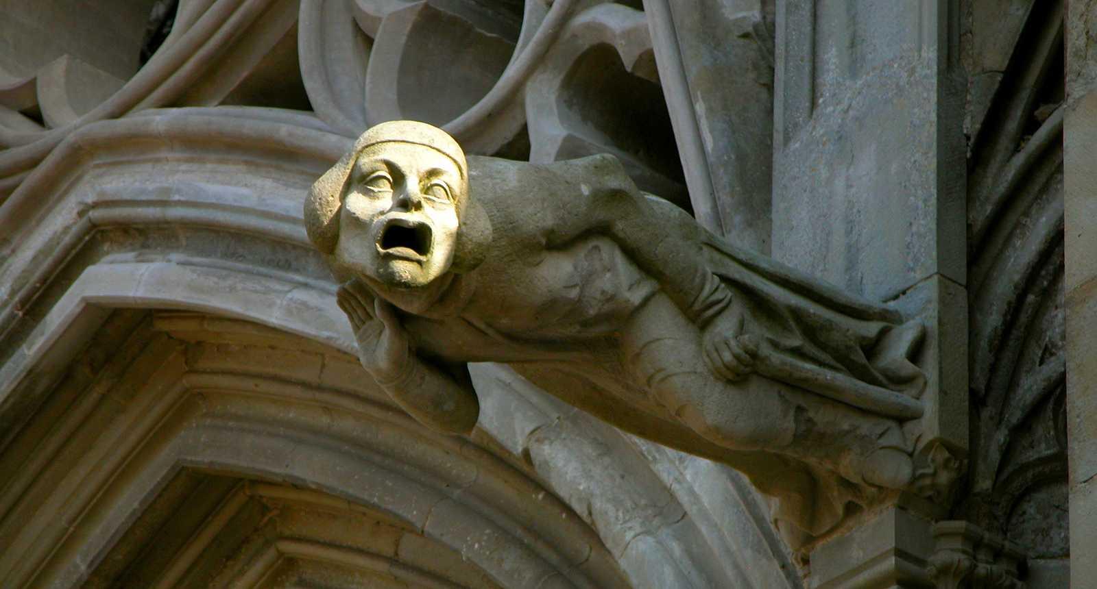 Gargouille de la Cathédrale Saint-Michel de Carcassonne