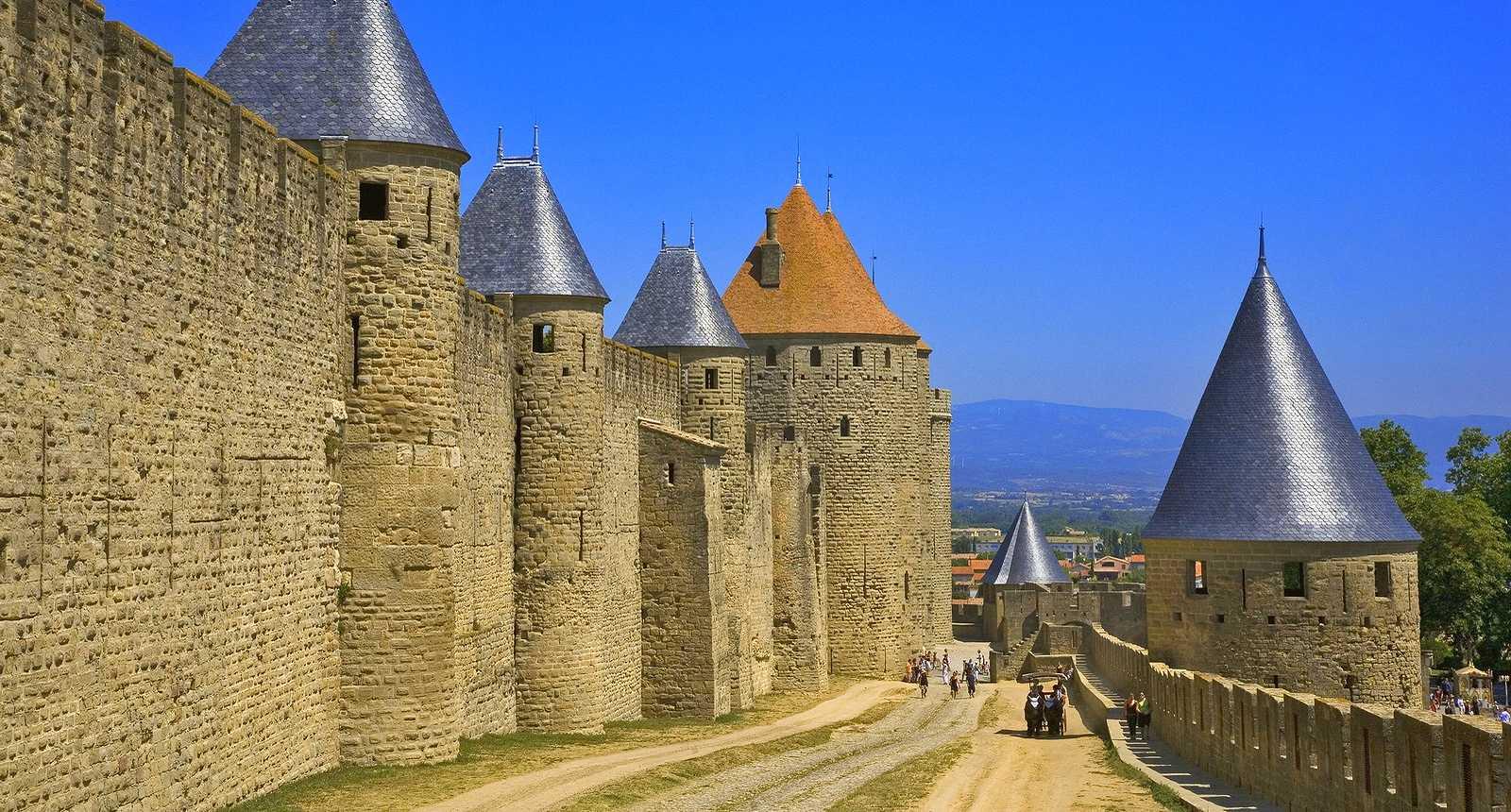 Les remparts de Carcassonne (1)