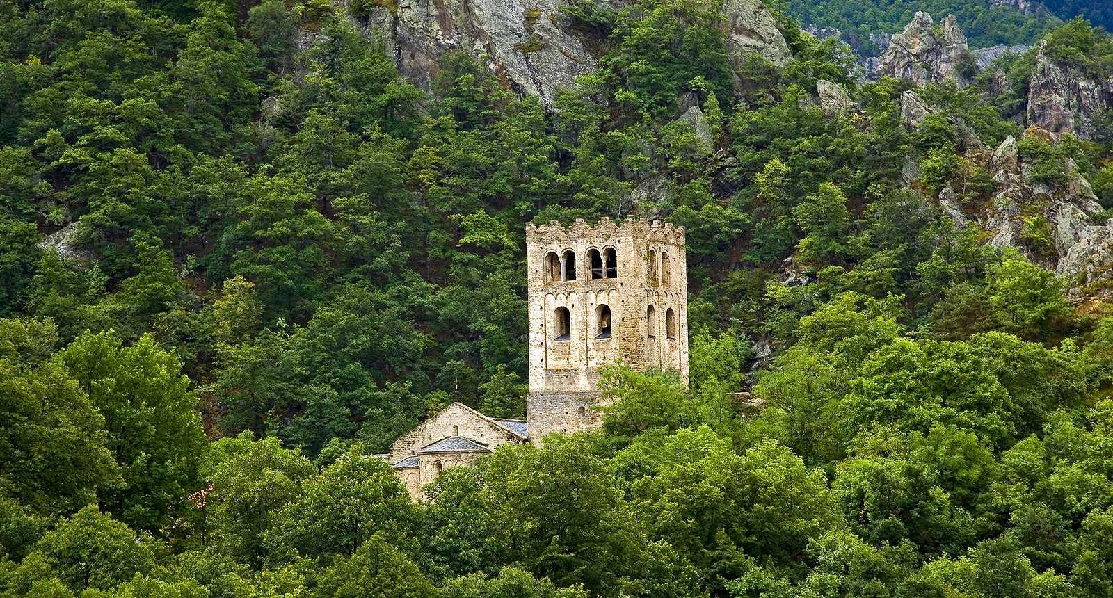 Clocher de l'Abbaye Saint-Martin-du-Canigou