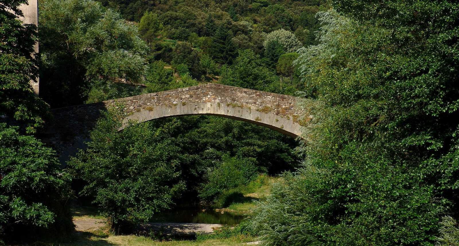 Le Pont roman à Lodève