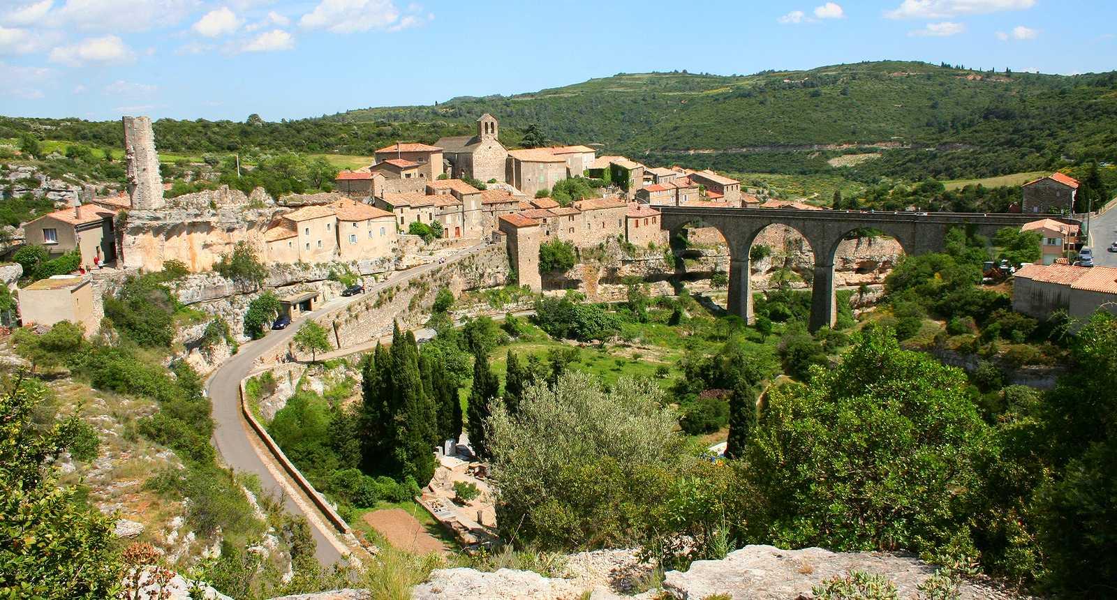 La ville médiévale de Minerve