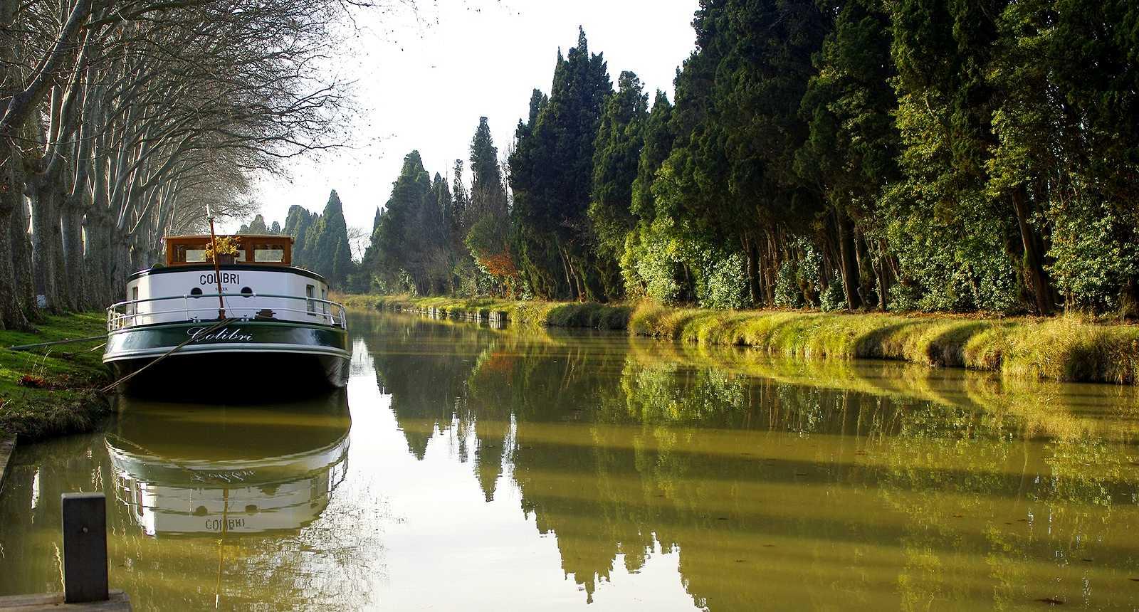 Le Canal du Midi dans le Minervois