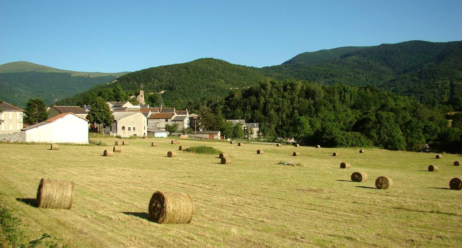 Le village de Roquefort-de-Sault