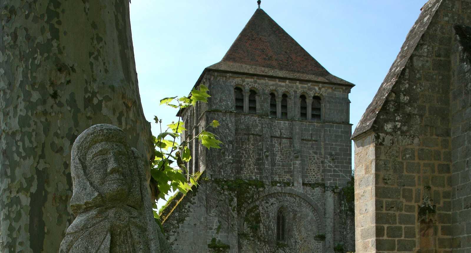 Image : Église du Moutier d'Ahun