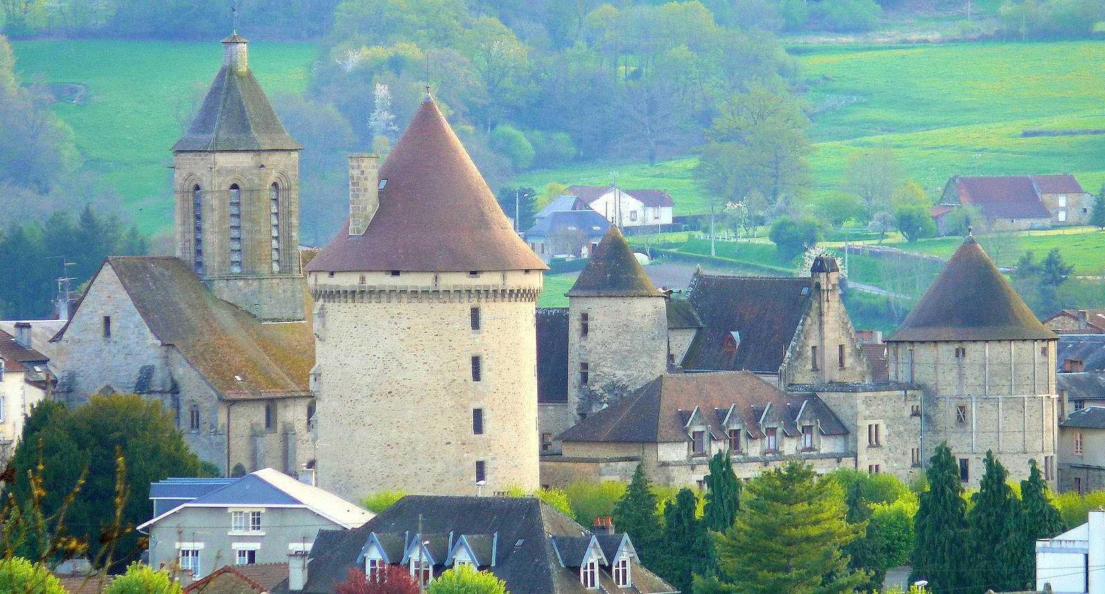 Image : Bourganeuf