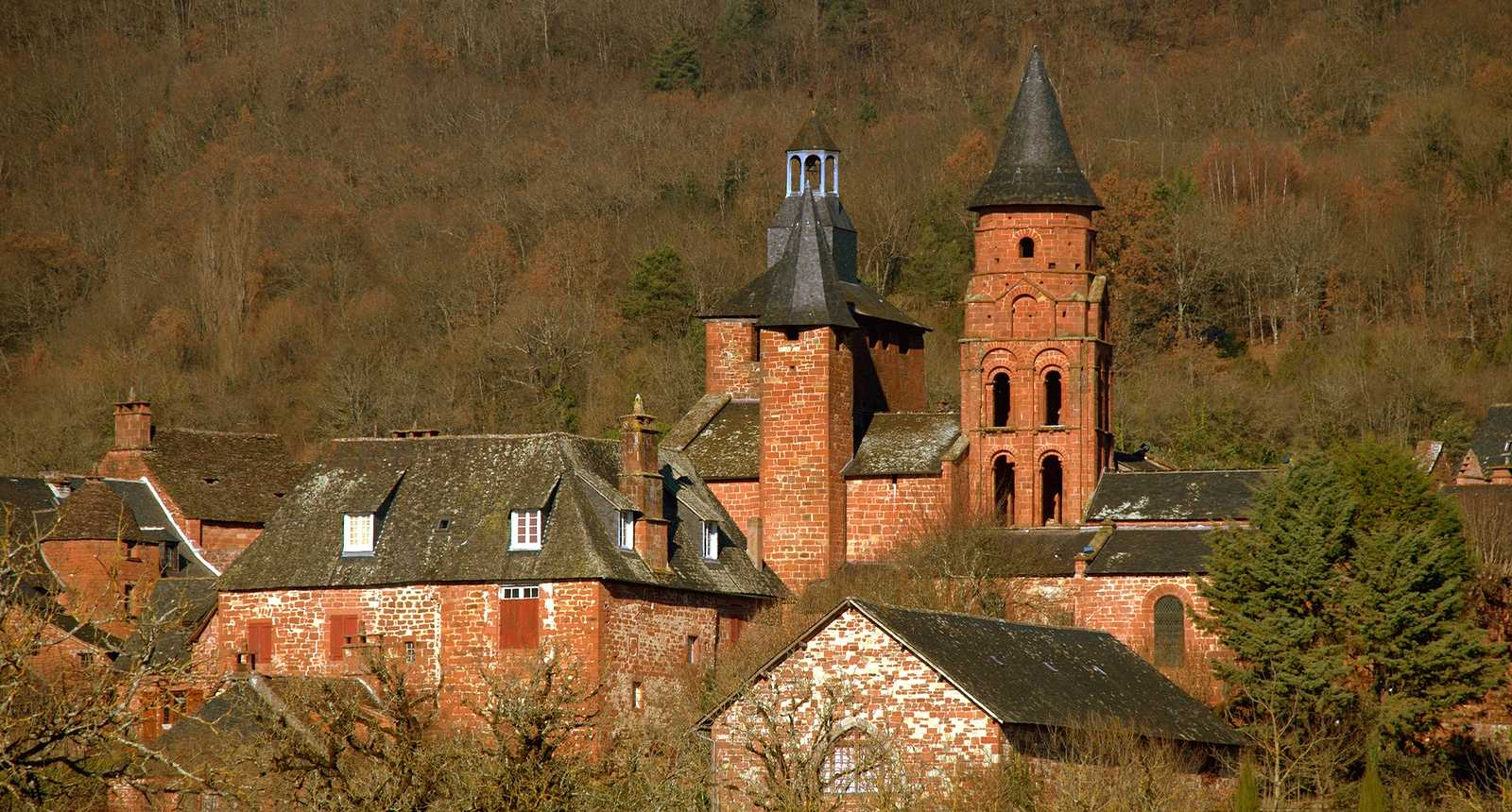 L'église Saint-Pierre de Collonges-la-Rouge