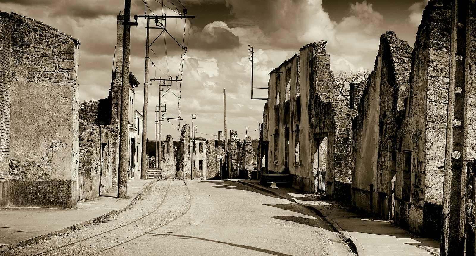 Ruines d'Oradour-sur-Glane