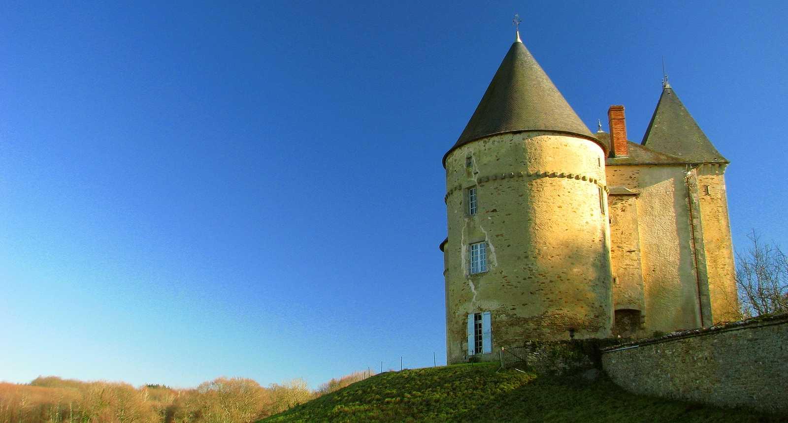 Le Château de Brie à Champagnac-la-Rivière