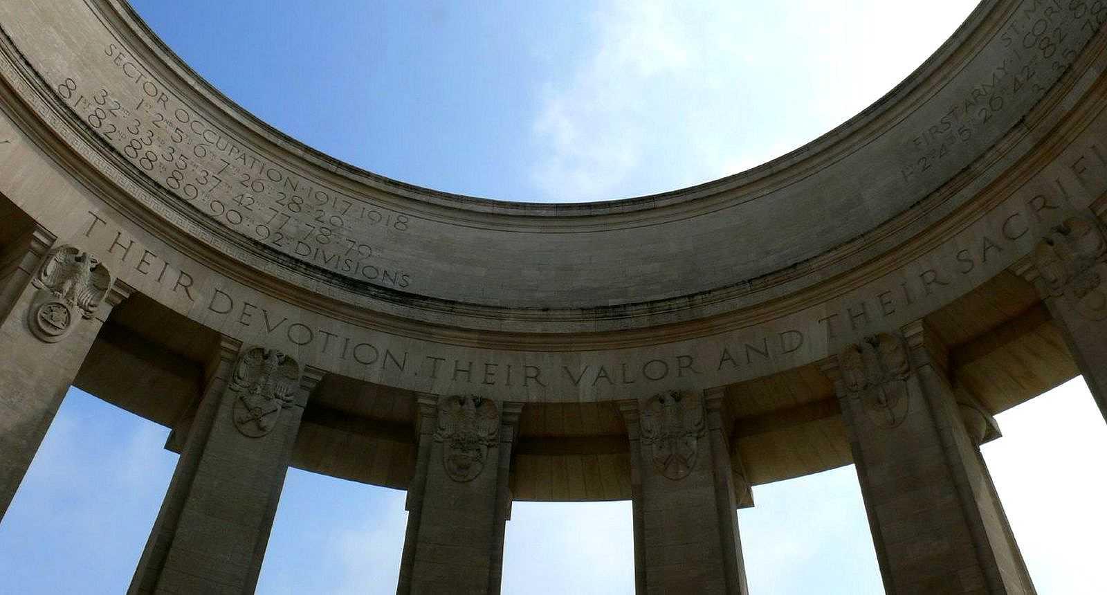 Le mémorial américain de la Butte de Montsec