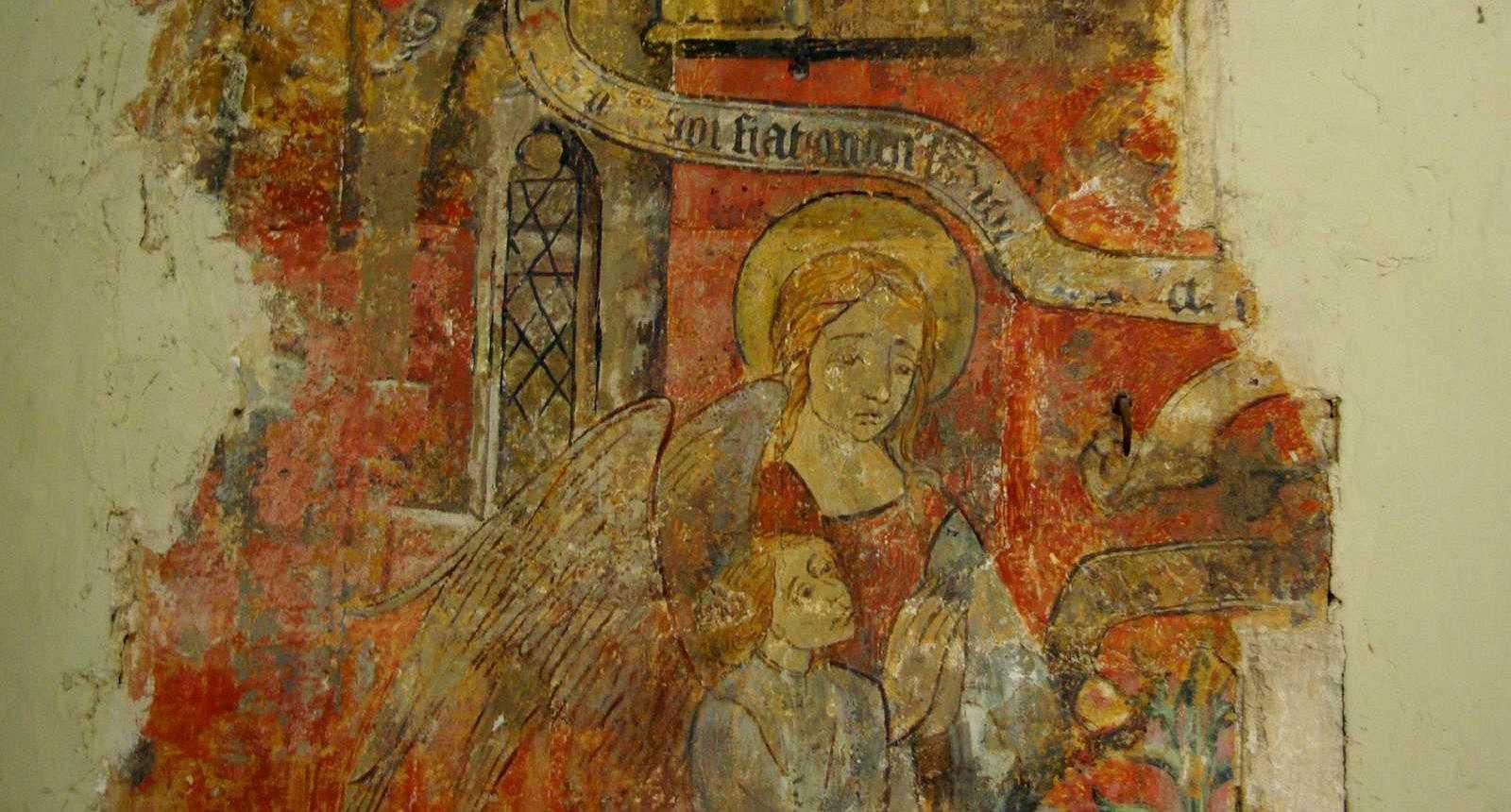Fresque de la Chapelle Saint-Antoine de Bar-Le-Duc