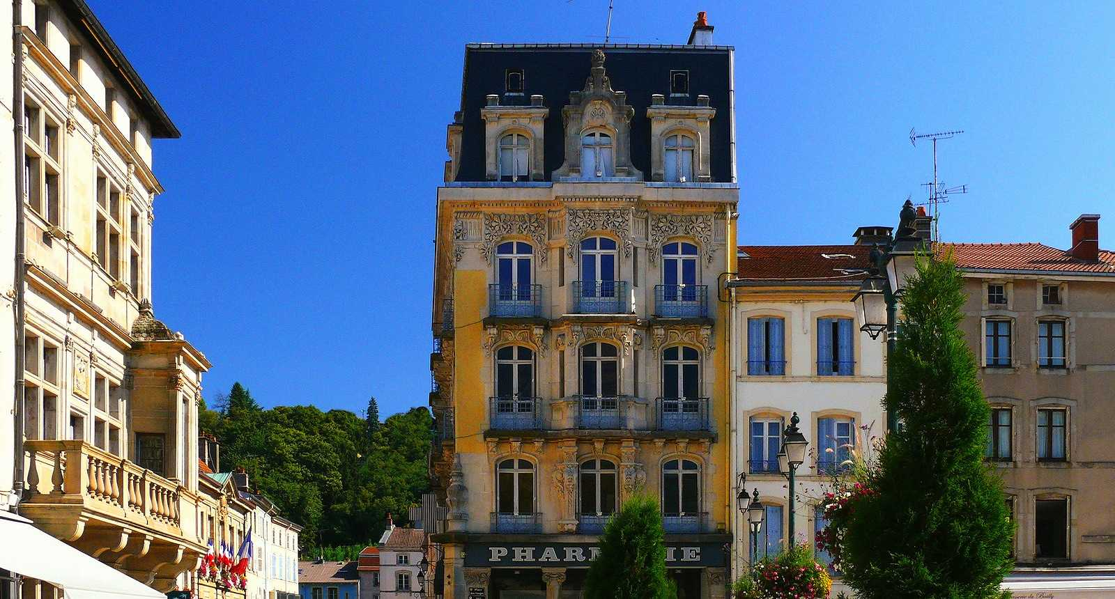 Belle façade d'Epinal