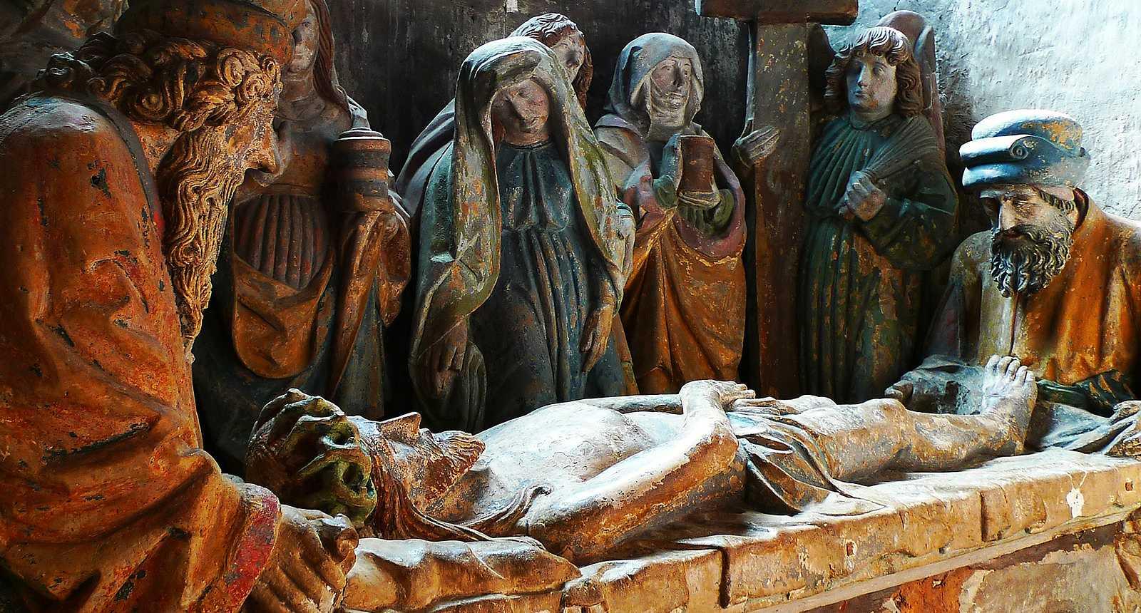 La Mise au tombeau de la Basilique Saint-Maurice d'Epinal