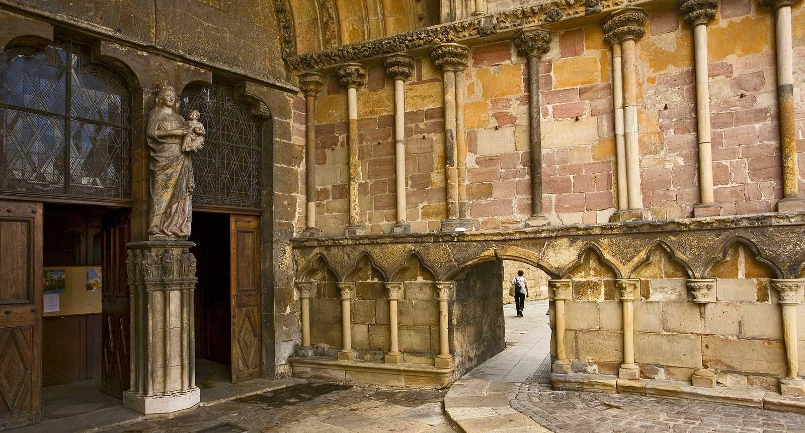 Portes de la Basilique Saint-Maurice d'Epinal