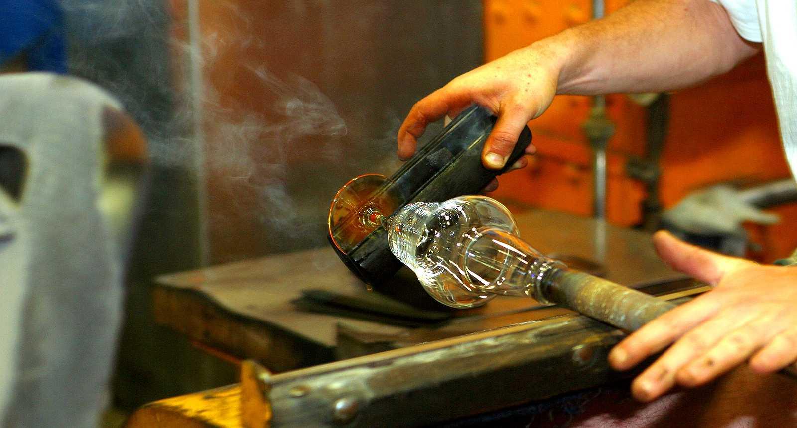 Souffleur de verre à Lunéville