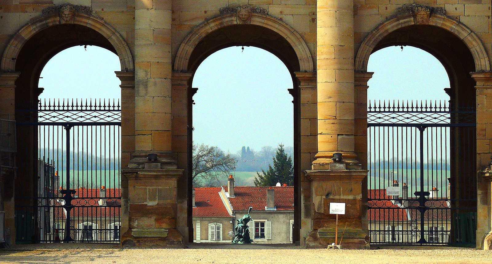 Portail du Château de Lunéville