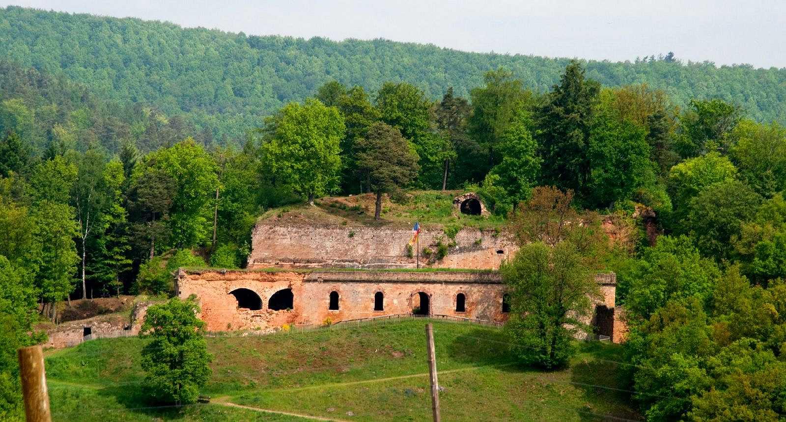 Ruines de la Citadelle de Bitche