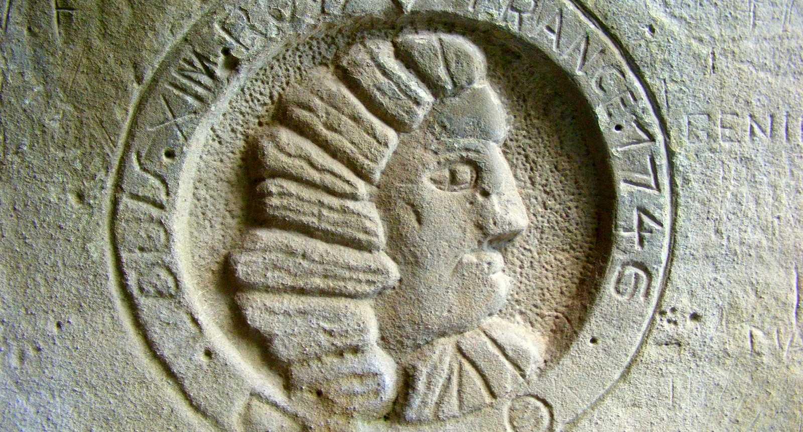Médaillon sculpté de la Citadelle de Bitche