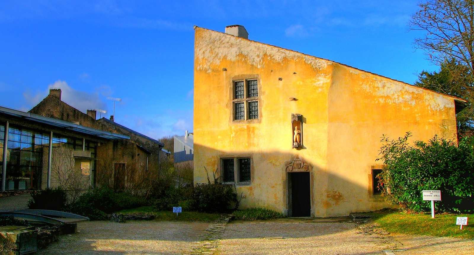 La maison natale de Jeanne d'Arc à Domrémy-la-Pucelle