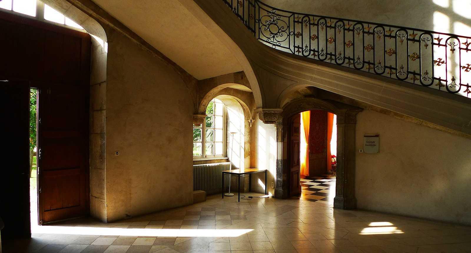Intérieur de l'Abbaye des Prémontrés à Pont-à-Mousson
