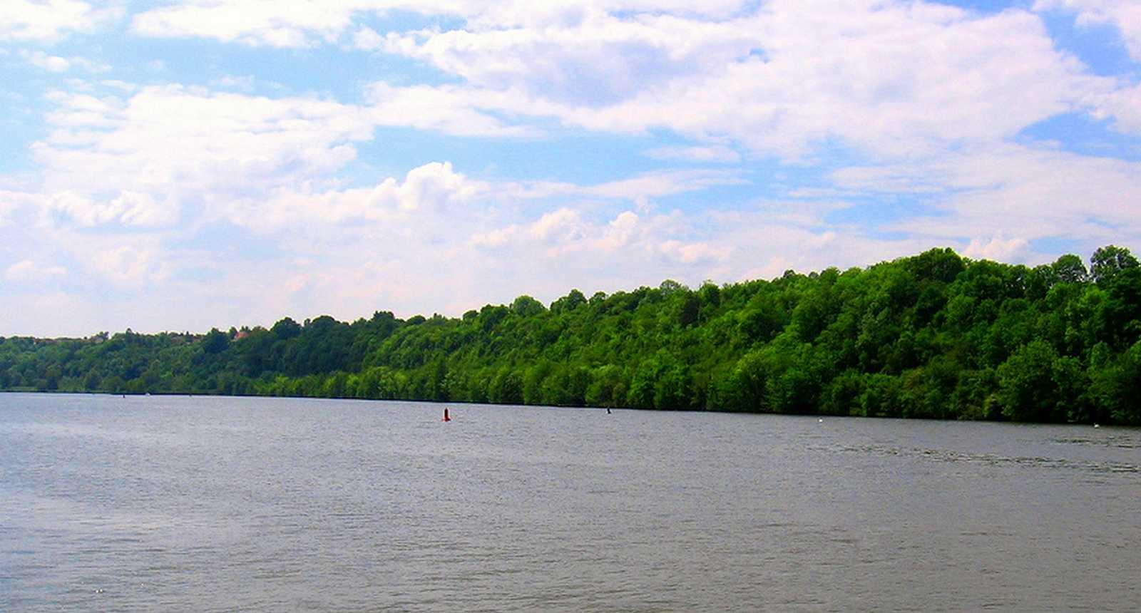 La Moselle entre Aingeray et Liverdun