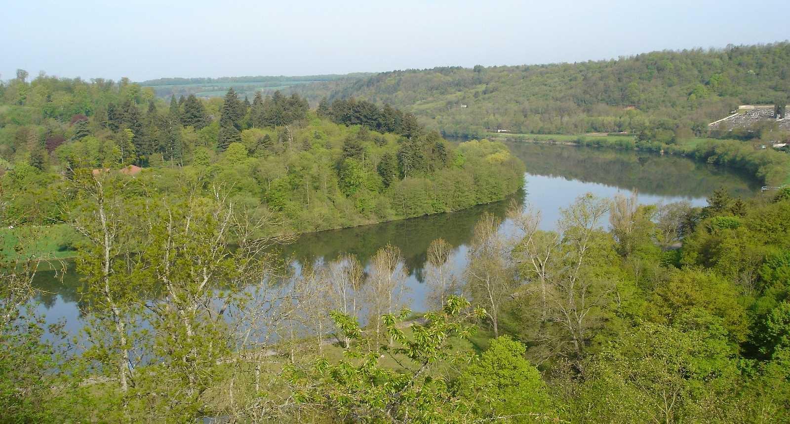 La Moselle à Liverdun