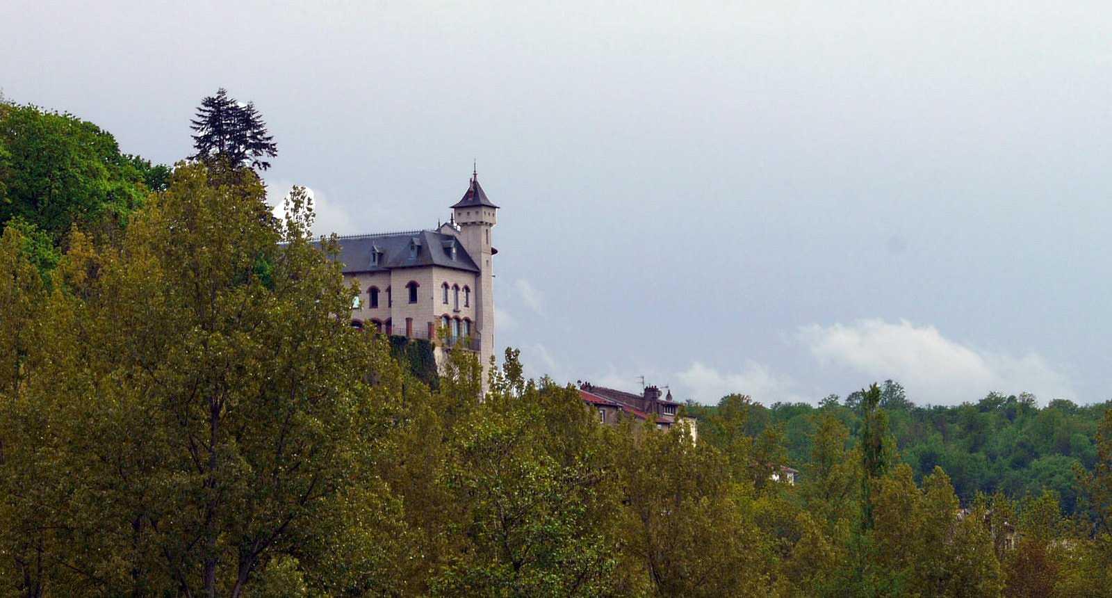 Les bords de la Moselle à Liverdun