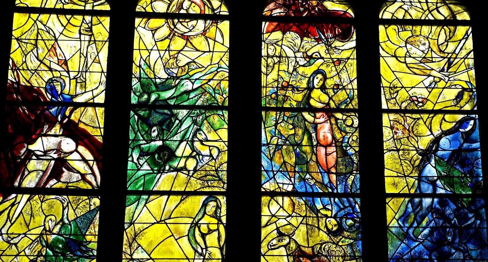 Vitraux de la Cathédrale Saint-Etienne de Metz (1)