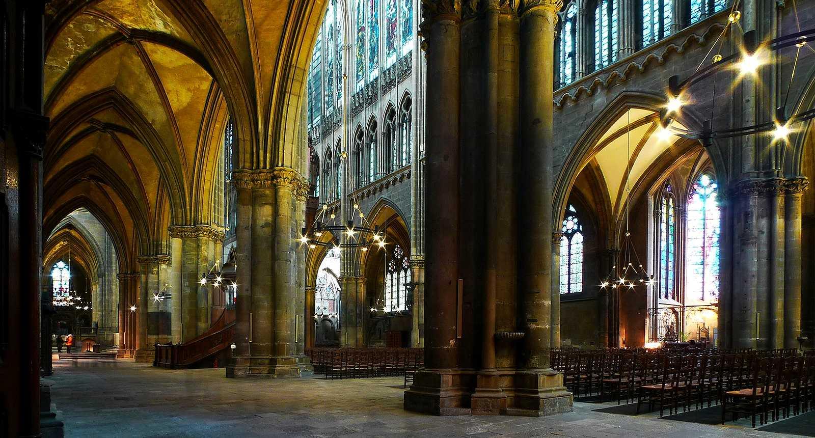 L'intérieur de la Cathédrale Saint-Etienne de Metz