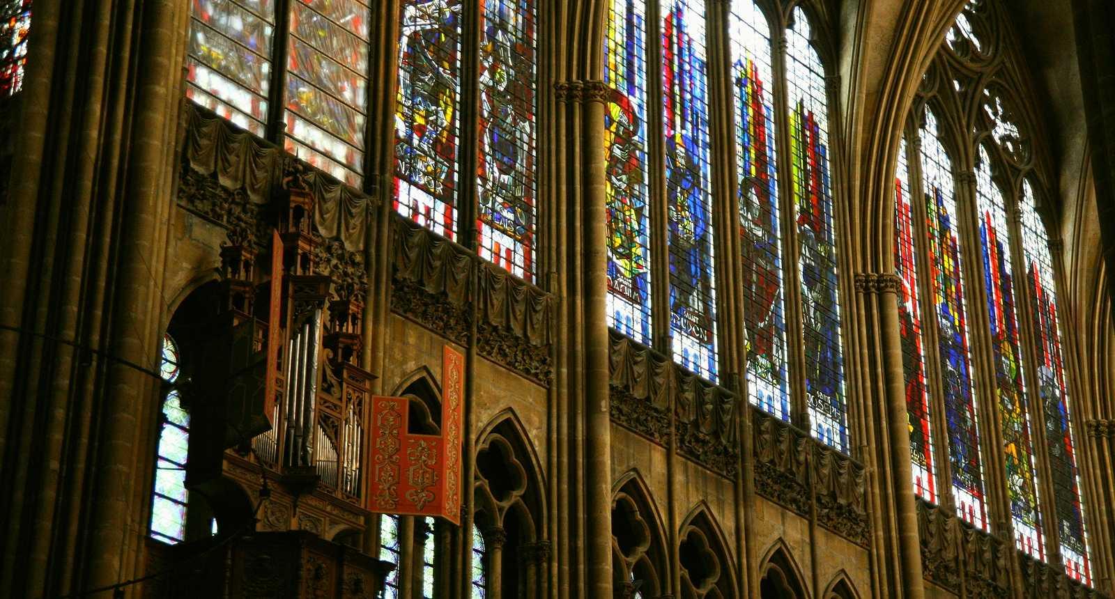 Vitraux de la Cathédrale Saint-Etienne de Metz