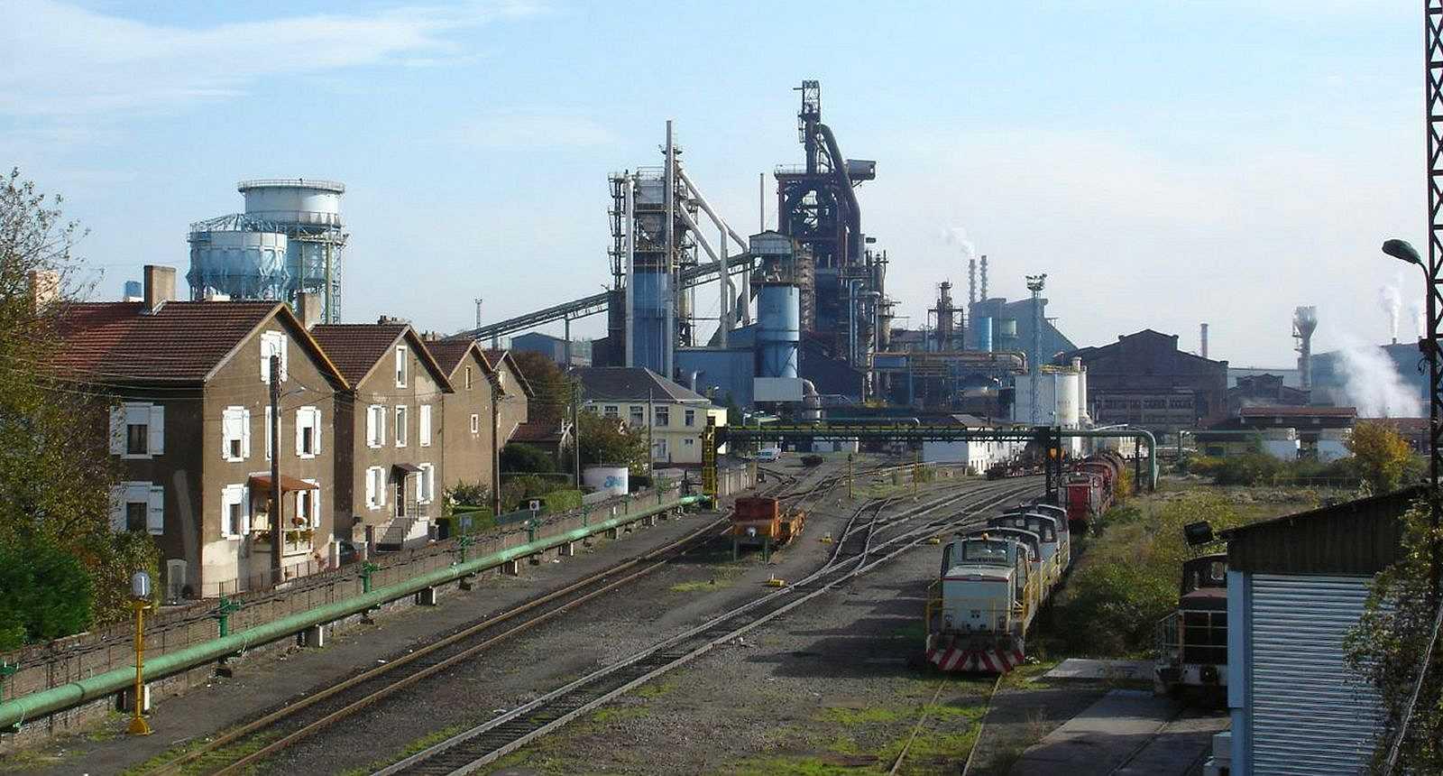 L'usine sidérurgique d'Hayange