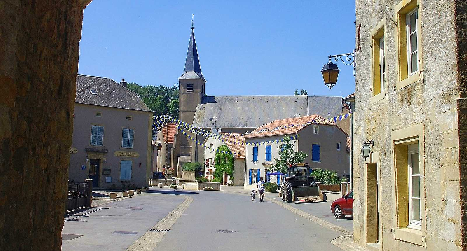 Le village de Rodemack