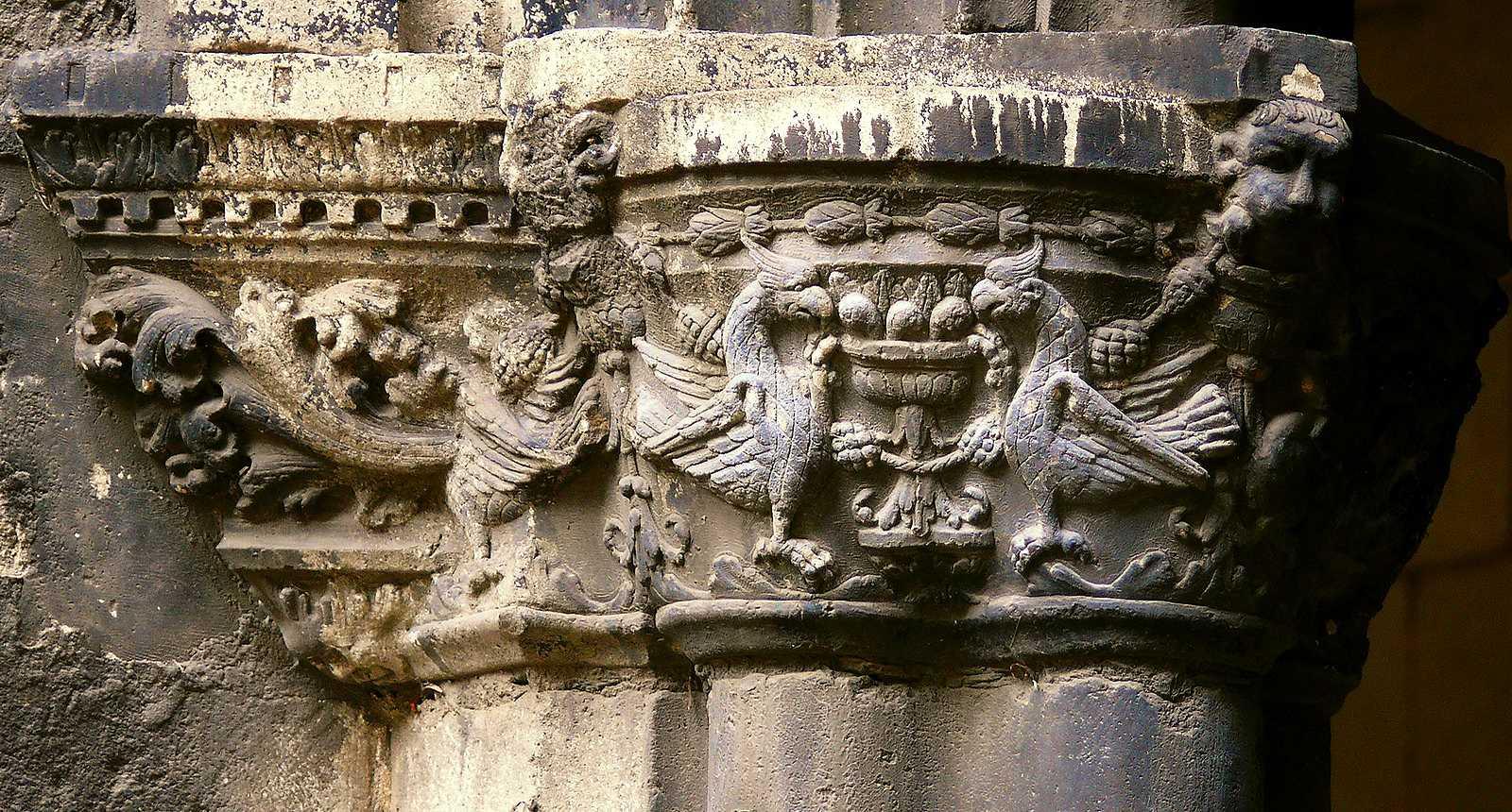Chapiteau de la Cathédrale Saint-Etienne de Toul
