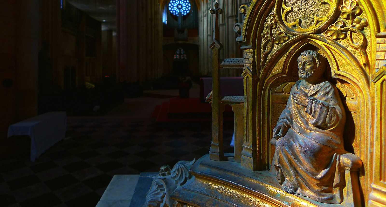 Intérieur de la Cathédrale Saint-Etienne de Toul