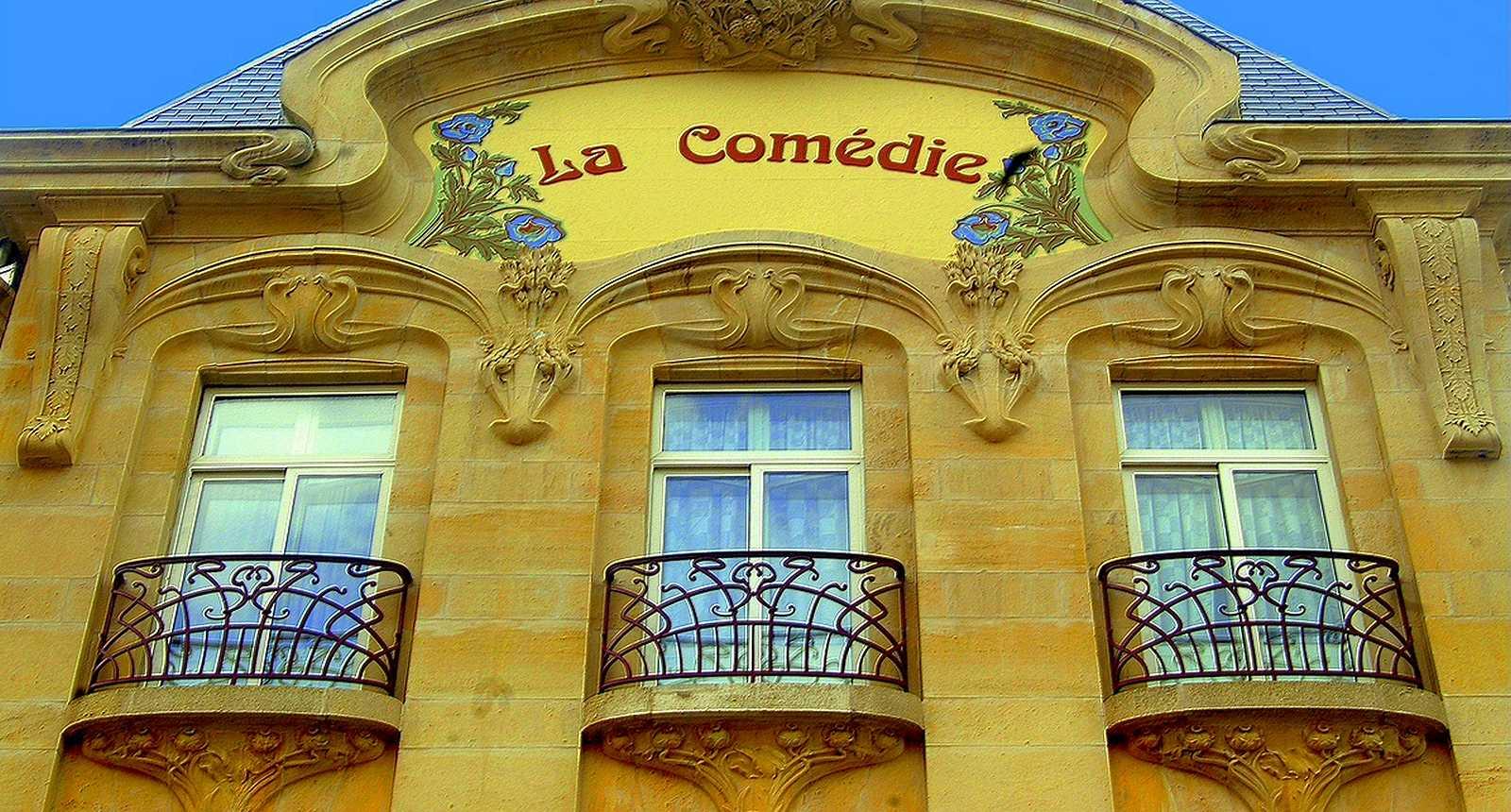 Façade du Théâtre La Comédie à Toul