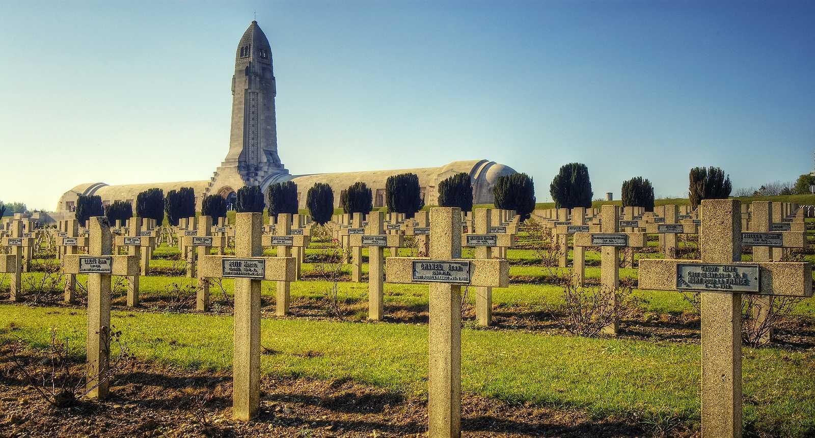 L'Ossuaire de Douaumont, Mémorial de Verdun