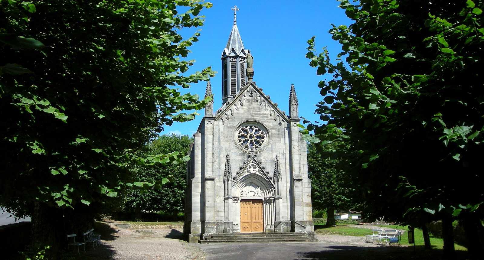 La Chapelle Notre-Dame-de-la-Brosse à Bains-les-Bains