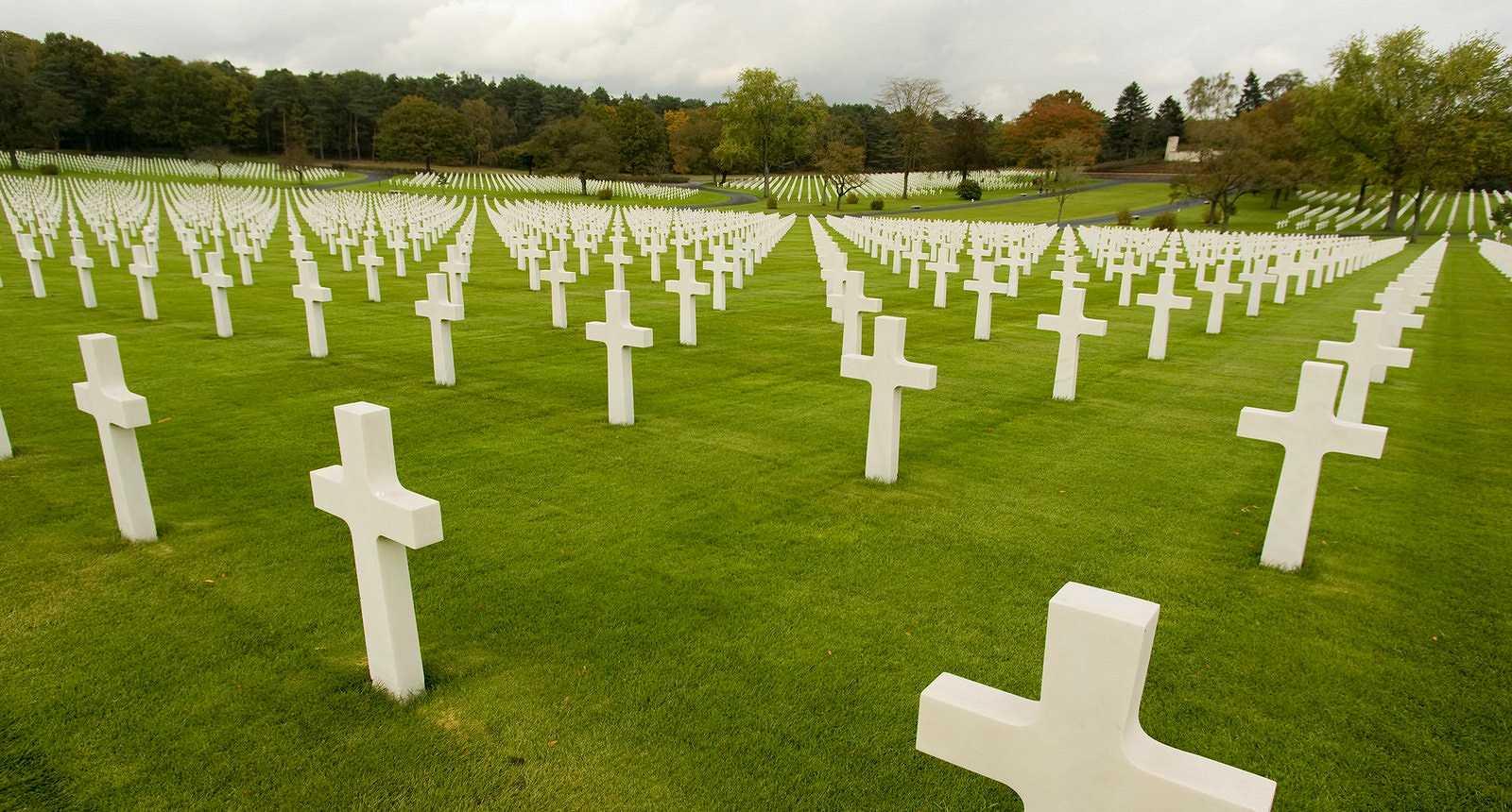 Le cimetière américain de Saint-Avold