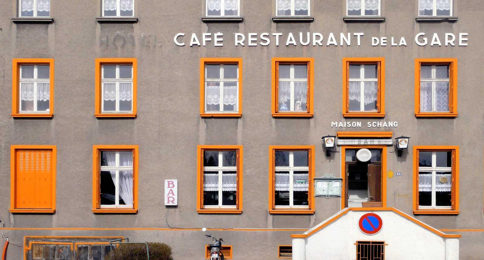 Le Café de la Gare à Saint-Avold