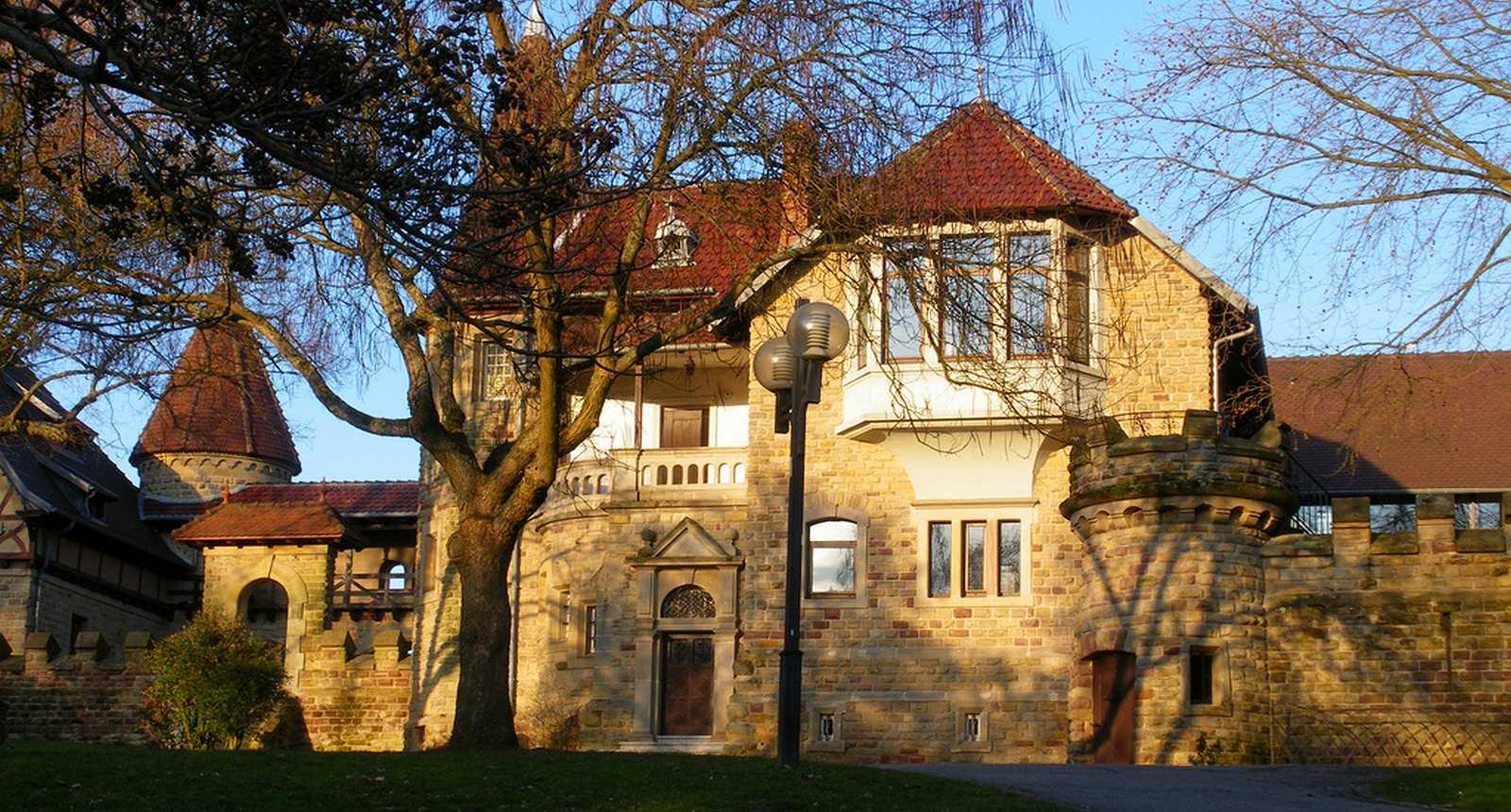 Le Château du Schlossberg à Forbach