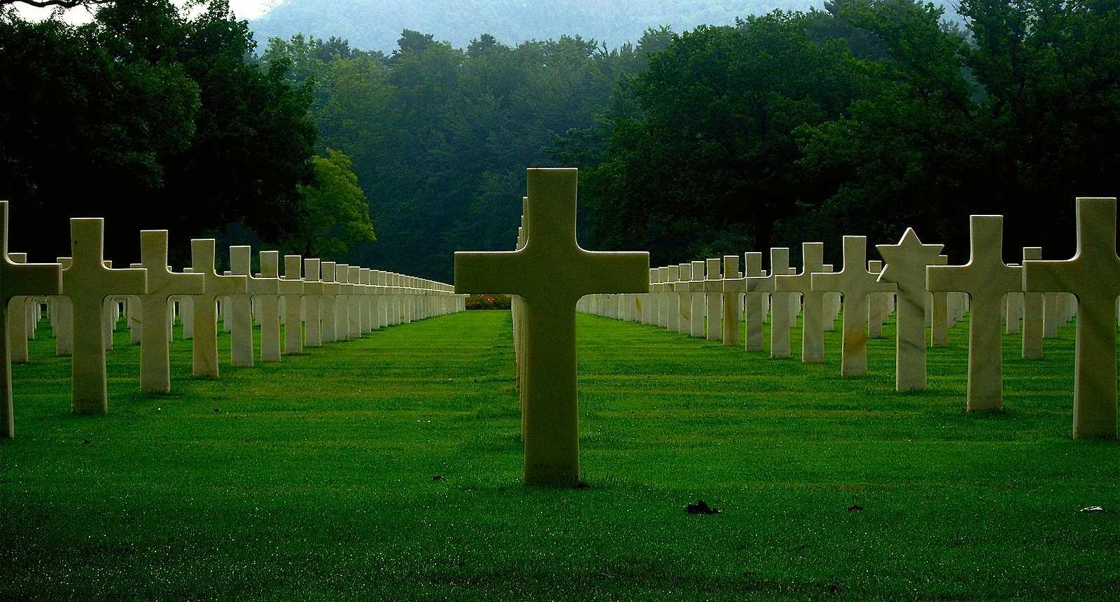 Le cimetière américain de Saint-Avold (1)