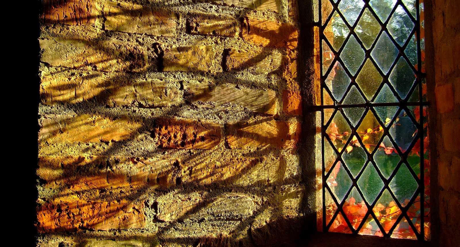 Fenêtre de l'Abbaye Cistercienne de l'Escaladieu